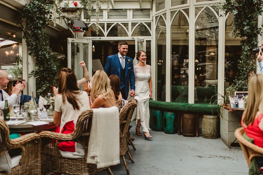 Smocka Alley Thetre wedding in Dublin City 00070