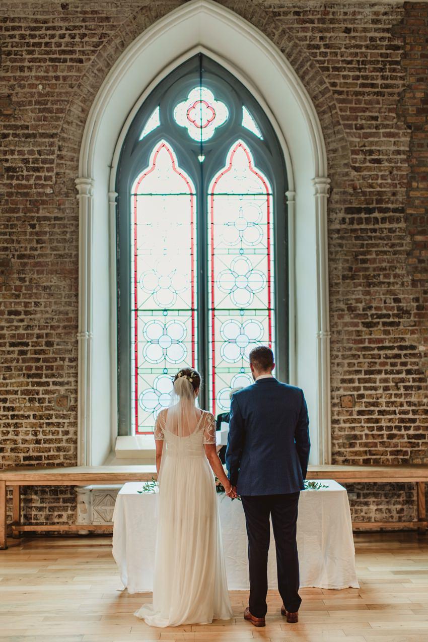 Smocka Alley Thetre wedding in Dublin City 00096