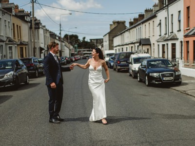 Simple and  Fashionable wedding in Markree castle