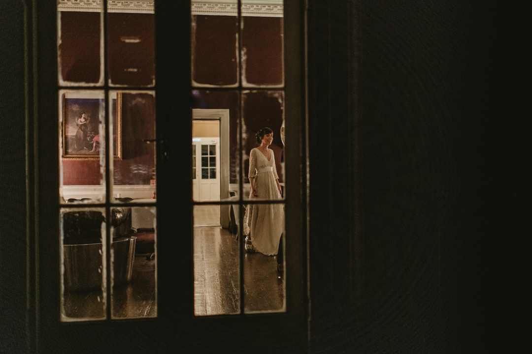 glass door in bellinter house hotel