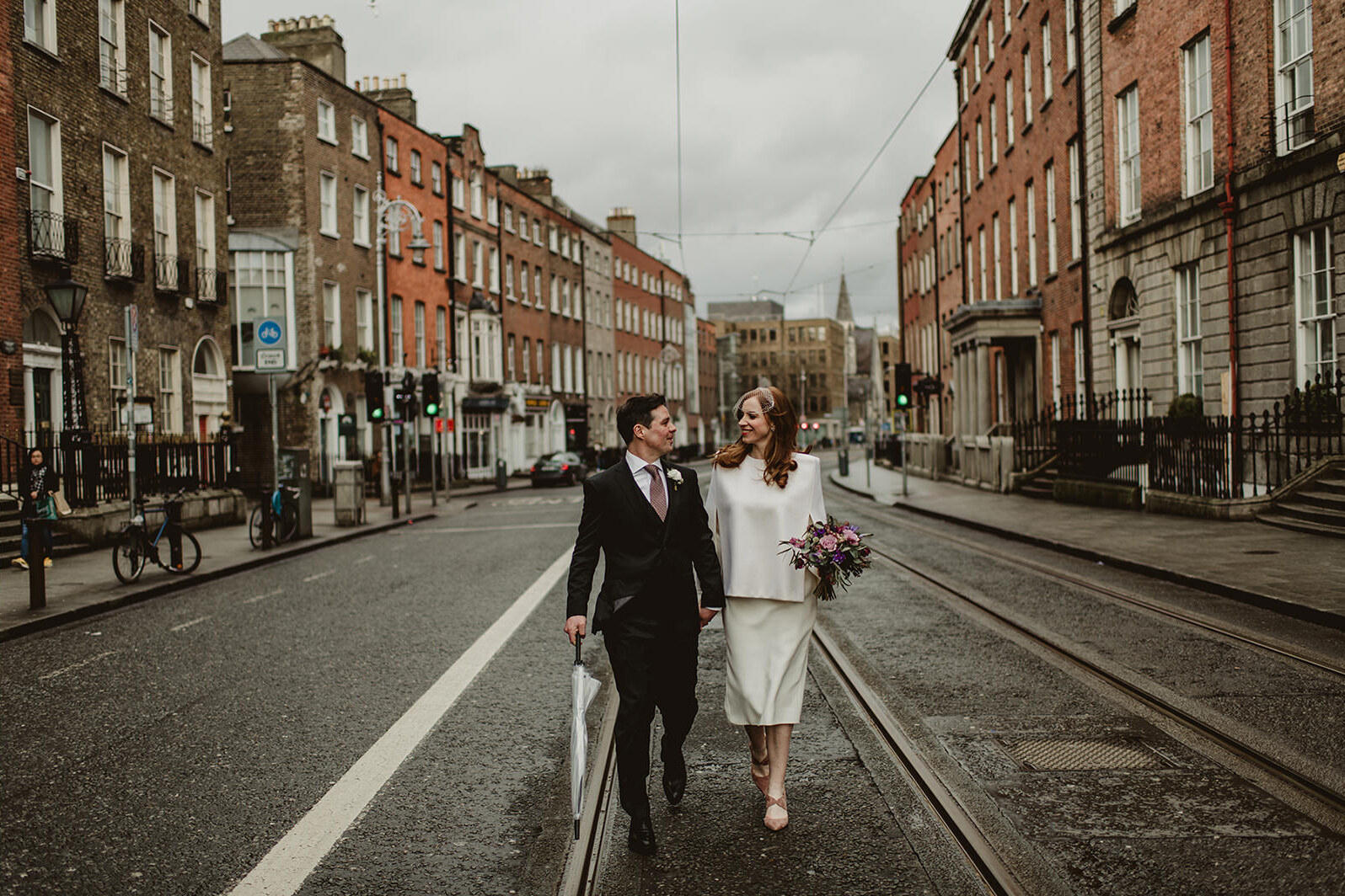 dublin city wedding, restaurant,robertas dublin, urban
