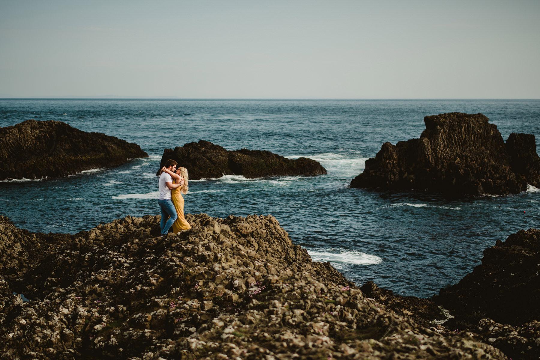 elopement, northen ireland, american couples