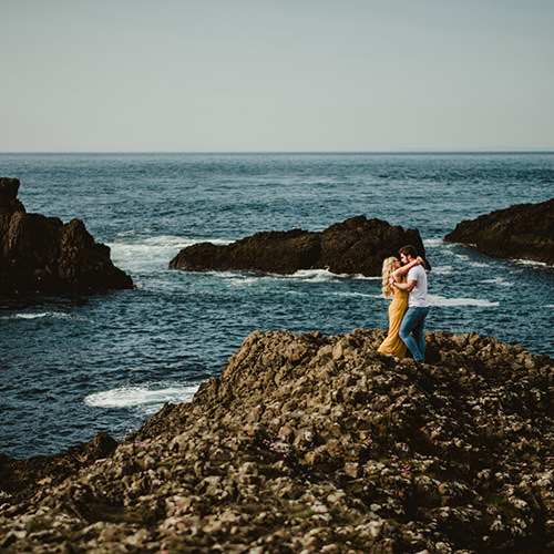 Engagement photo Northen Ireland Instagram