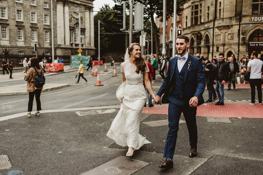 Summer Dublin City wedding Ireland 0047