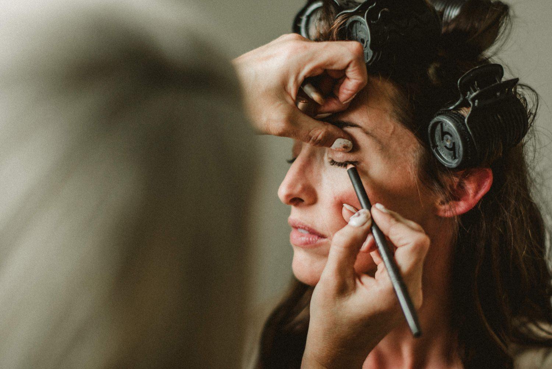 bride makeup, bride eye makeup
