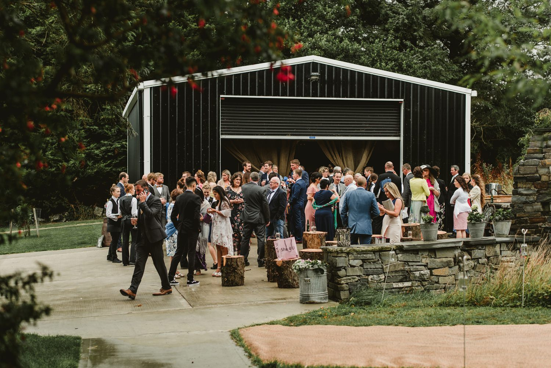 garden ceremony barn