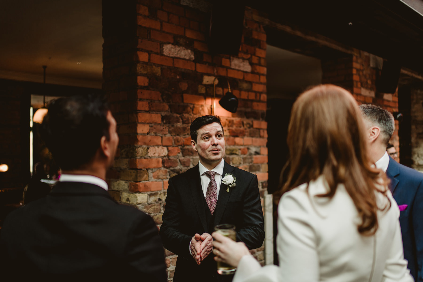 Robertas restaurant Wedding Dublin 00008