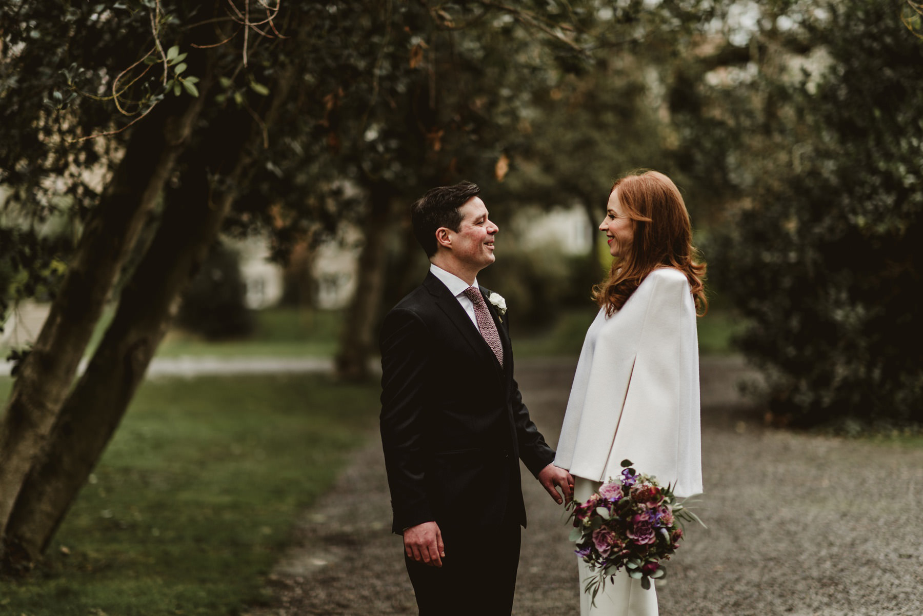 urban wedding couple,wedding in dublin