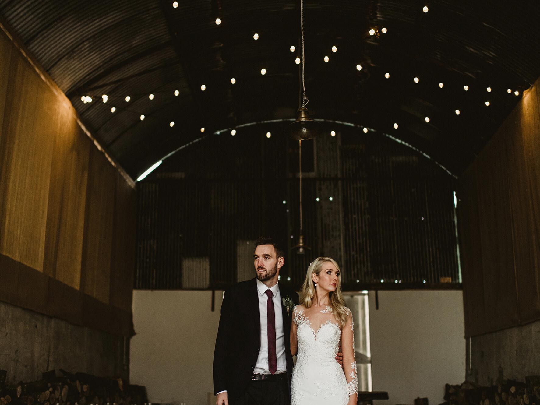 Inside Quirky Wedding Barn in Cloughjordan House