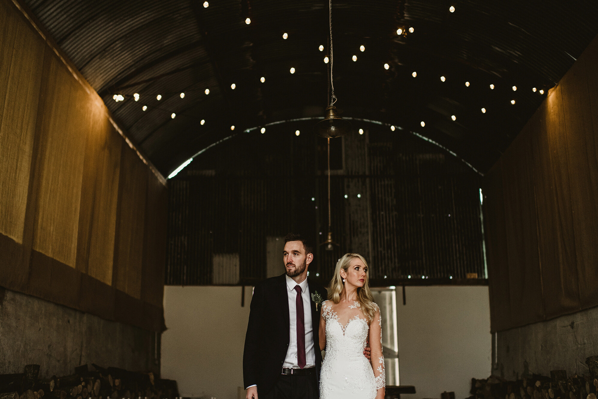 Inside Quirky Wedding Barn in Cloughjordan House