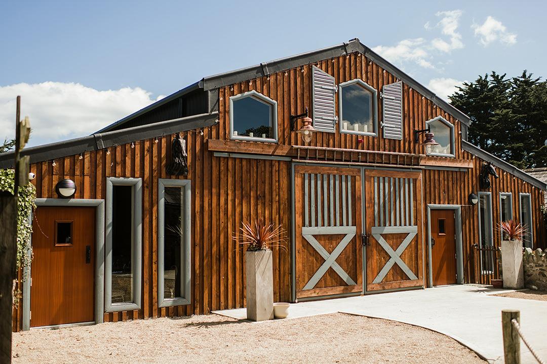 front door to the segrave barns
