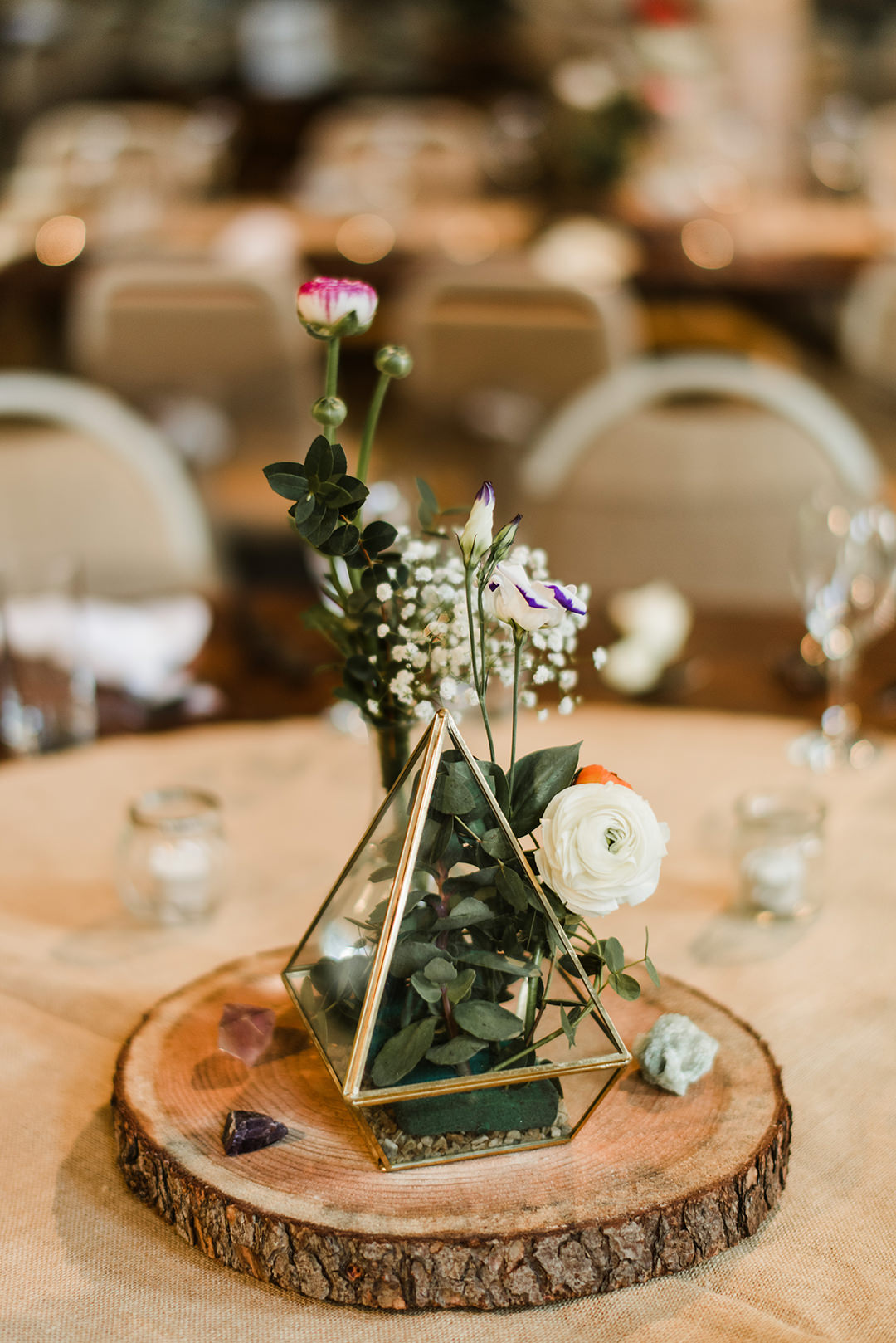 table decoration in segrave barns