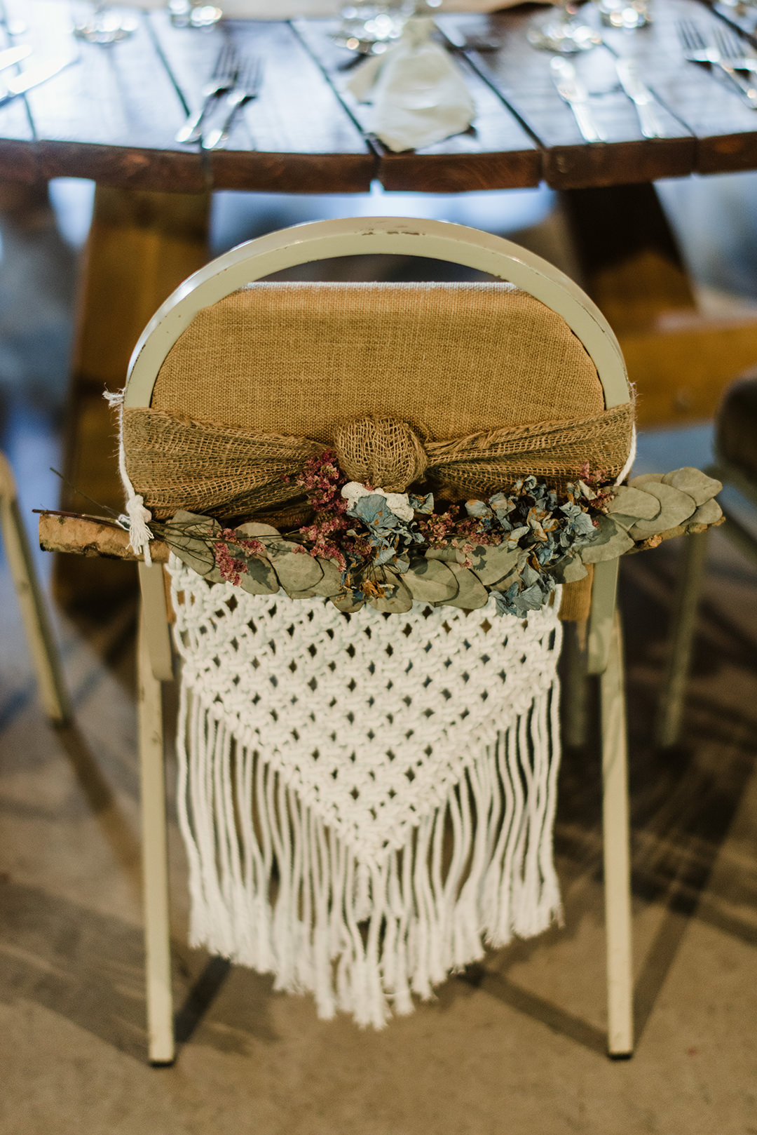 eco friendly decorated chairs