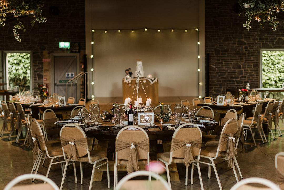 table setup in segrave barns