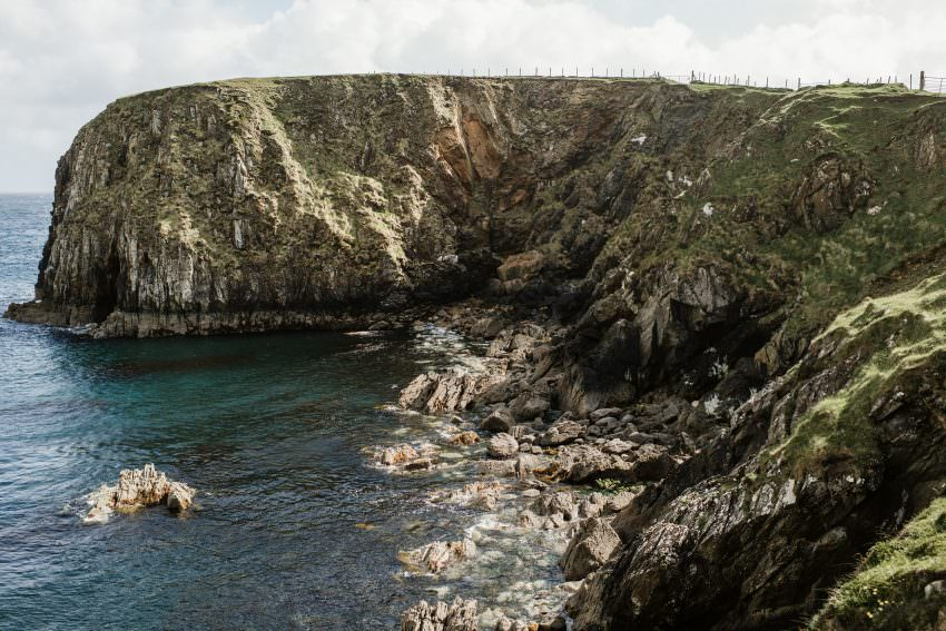 cliffs in Malin head