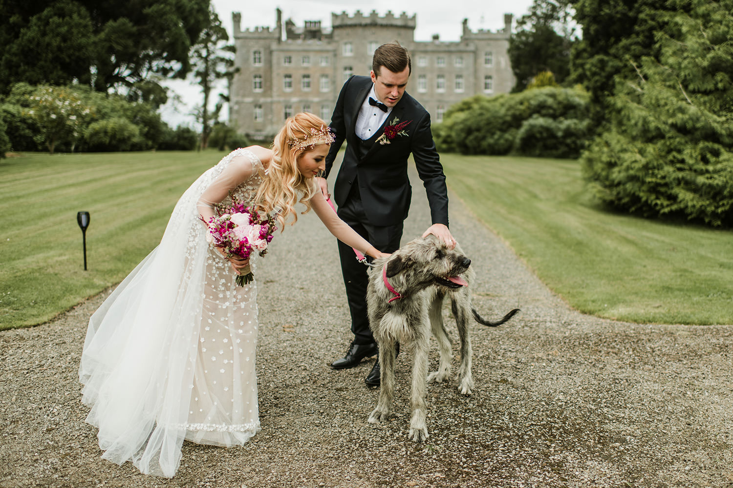 Wedding in Markree Castle co.Sligo 00053