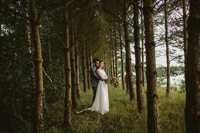 darek Novak in action photographing wedding