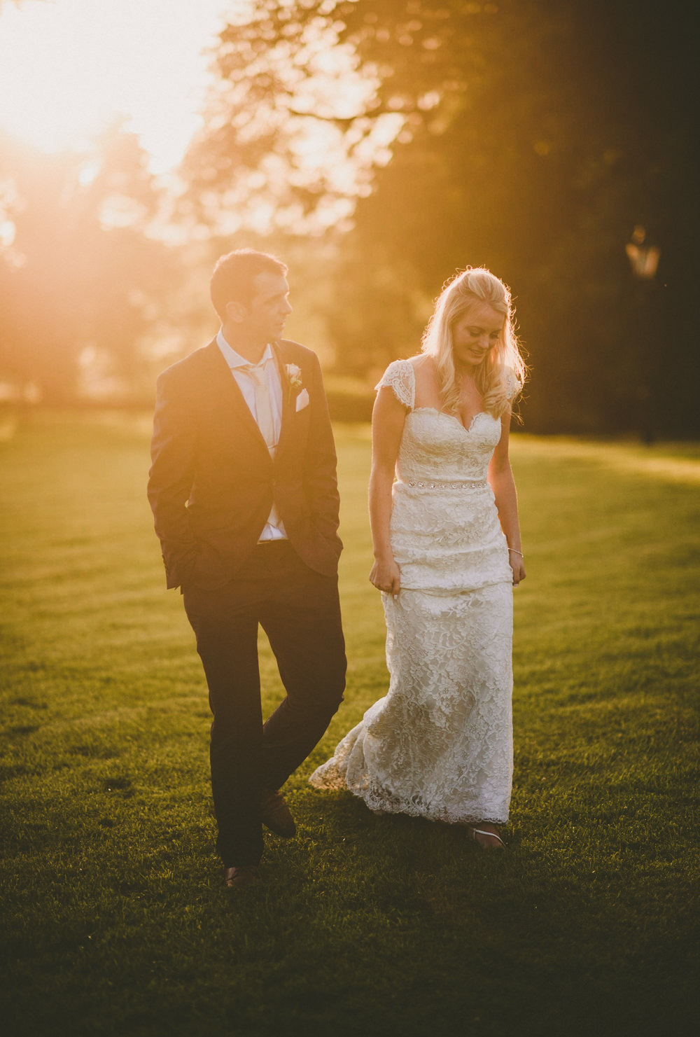 Stunning wedding celebration in Tankardstown House